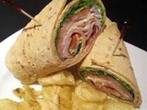 Rick's Pub and Grill Restaurant Roast Beef Wrap